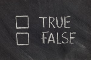 "Play this quick game of ""True or False"" with friends and family to test each other's dental knowledge!"