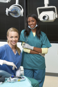 Visit your dental hygienist twice a year for a routine cleaning.
