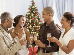 Alcohol is just one tooth trap you will encounter at your holiday parties.
