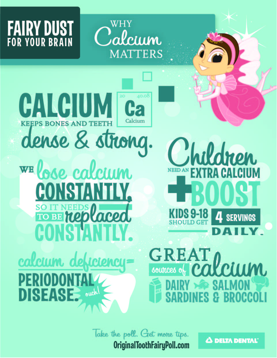 Calcium Makes Teeth And Bones Strong