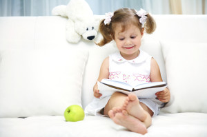 Books and stuffed animals are a good alternative to Easter candy.