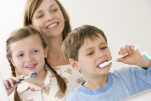 Celebrate National Smile Month by reinforcing healthy toothbrushing habits together.