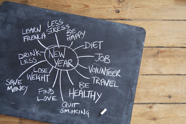 Recharge, rethink and reinvent your resolutions to ensure success.