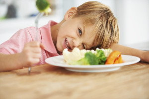 A recent Delta Dental survey found it's easier for parents to convince kids to eat veggies than it is to get them to brush their teeth.