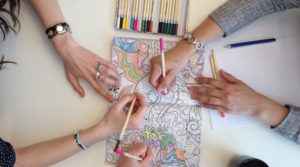 Coloring can be fun and beneficial for adults,