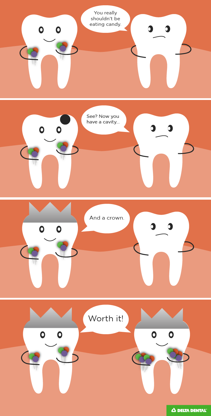 Dental crowns joke